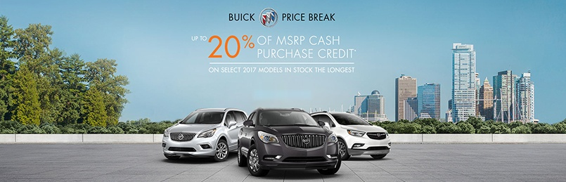 Buick Specials July 2017