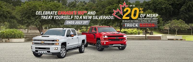 Chevrolet Specials July 2017