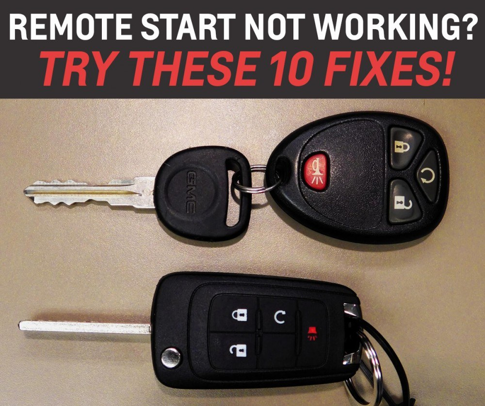 Remote Start Not Working: 10 Things to Check - Markville