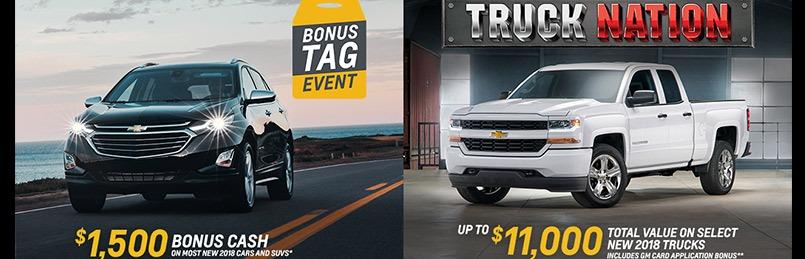 Chevrolet Specials May 2018