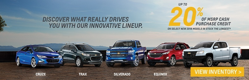 Chevrolet Specials July 2018