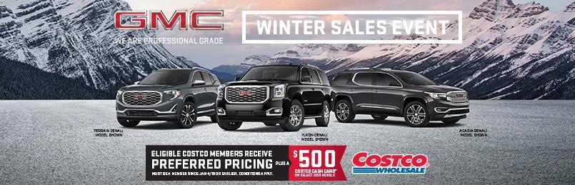 GMC Costco Deal