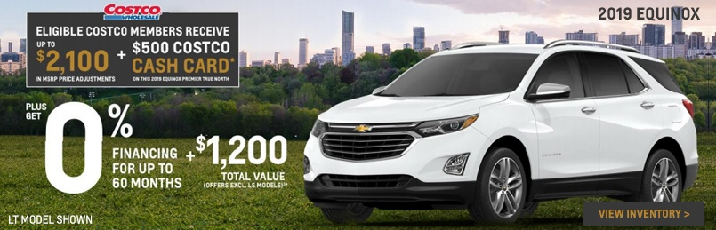 Chevrolet Equinox Offers August 2019